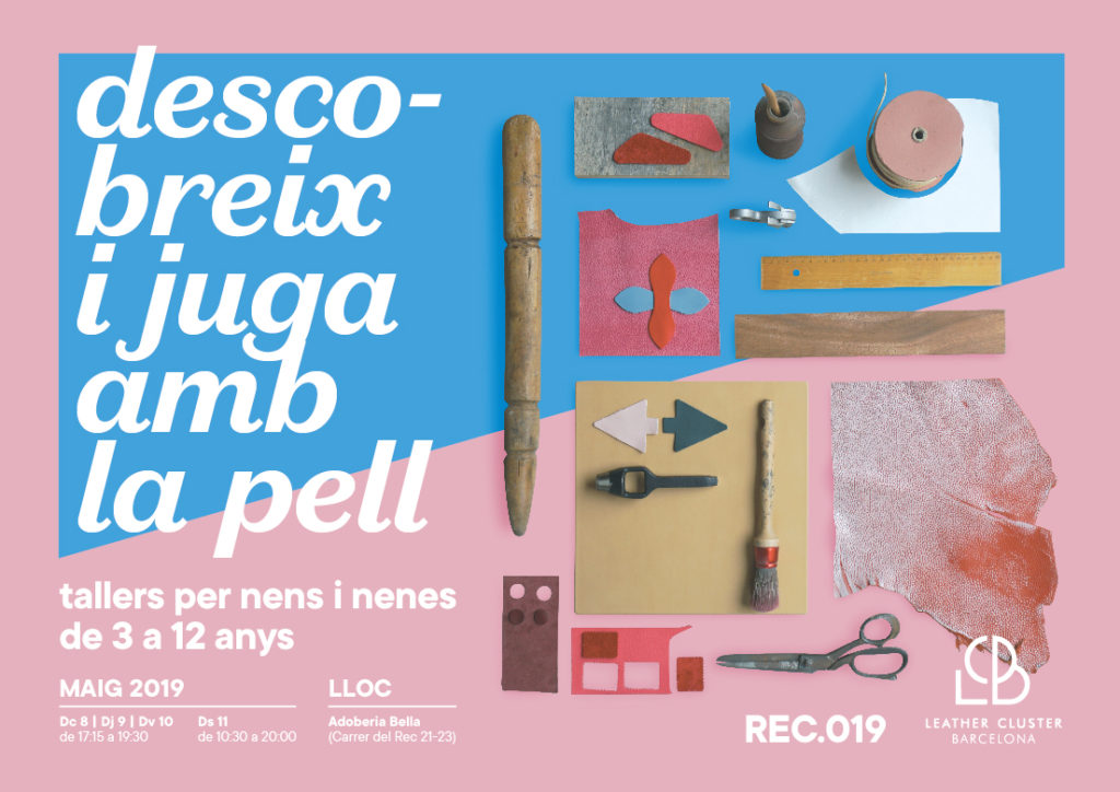 Taller de pell de Leather Cluster Barcelona en el REC Stores