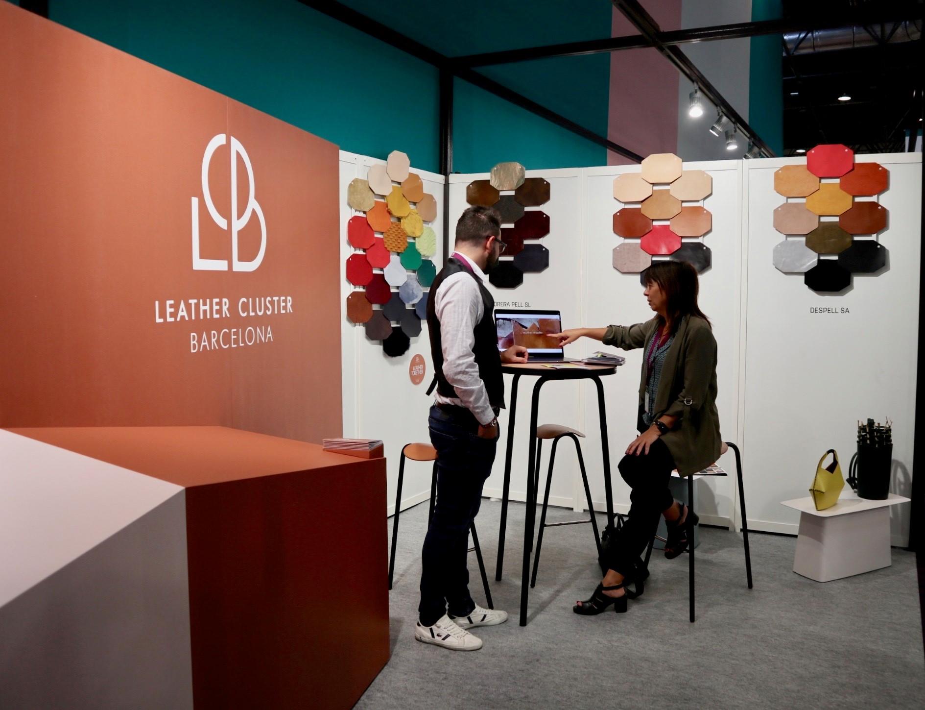 Leather Cluster a Première Vision Paris