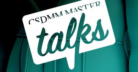 CSDMM Master Talks